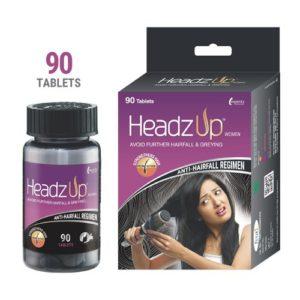 Headzup Men Hair Growth Tablets With Biotin (Hair Vitamin