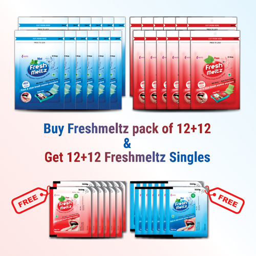 Amazon_Banner FRESHMELTZ 20 offer pack COMBO – 12+12