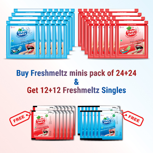 Amazon_Banner FRESHMELTZ minis offer pack COMBO – 24+24 new