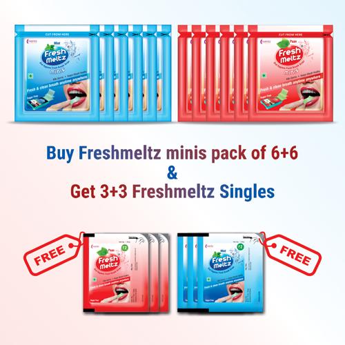 Amazon_Banner FRESHMELTZ minis offer pack COMBO – 6+6 new